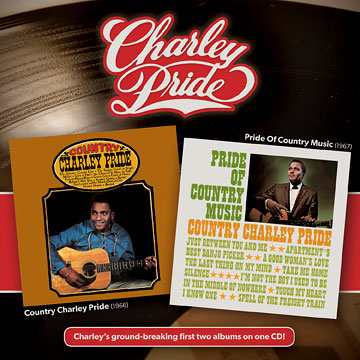 Country Charley Pride + Pride Of Country Music [Reissue] by Charley Pride cover art image picture