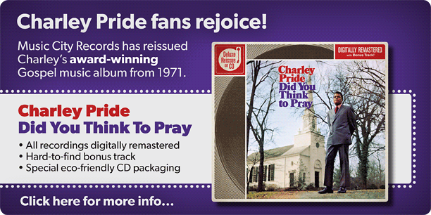 Charley Pride Did You Think To Pray image