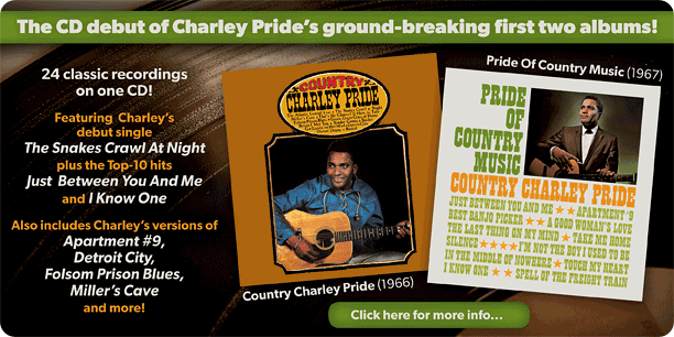 Country Charley Pride + Pride Of Country Music image